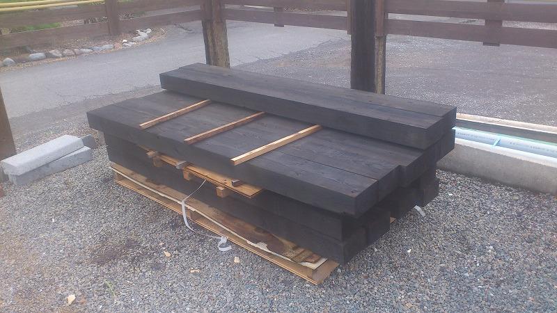 福井材木枕木