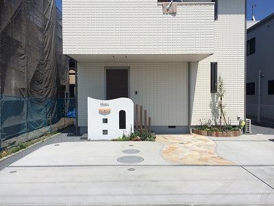 立花ガーデン 新築外構工事 焼津 U様邸